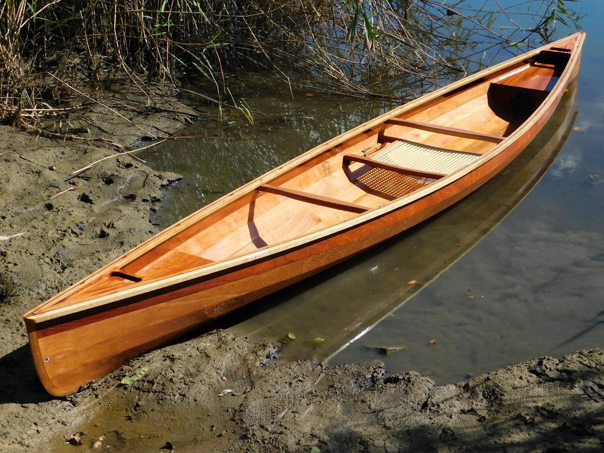 kanadier einplätzer kymi river solo - sperrholz